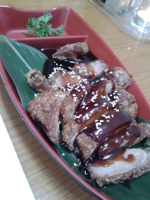 teriyaki duck